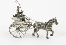 [nr.034] Miniatuur sjees - Van der Meulen Edelmetaal BV